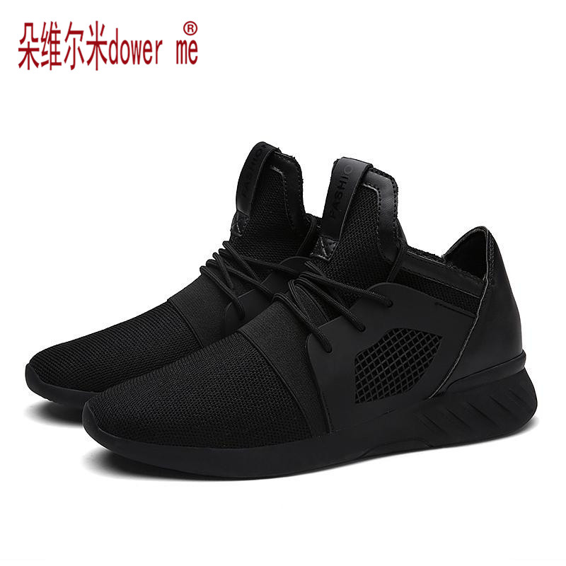 Summer Men s Shoes Fashion Shoes Casual Soft Breathable Mesh Zapatillas Deportivas Spring Lace up 2017