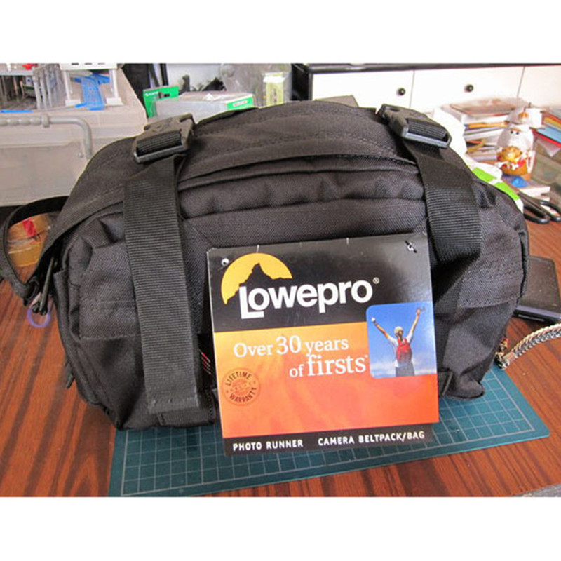 Free Shipping NEW High Quality Lowepro Photo Runner DSLR Camera Bag Waist Pack Rain Cover