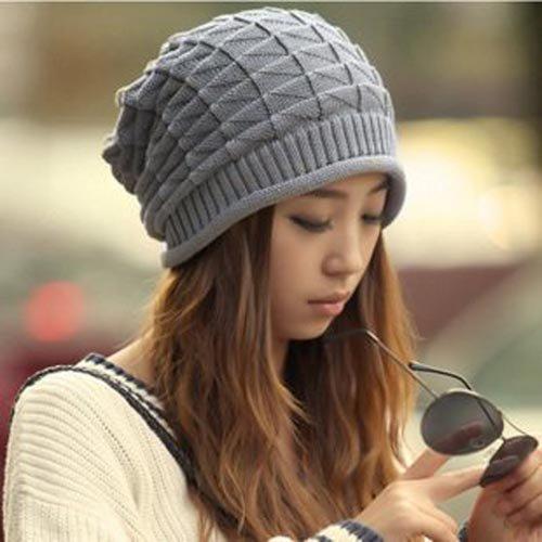 10pcs COOL Winter Women Slouchy Oversized Beanies Men Womens Slouch Crochet  Mens Beanie Hat Mens Skull Cap Knitting Baggy Hats eff7aac9601