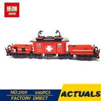 LEPIN 21011 Technic City Series Cargo Train Set compatible Legoing Children Educational Building Blocks Bricks Lepin Toys 10183