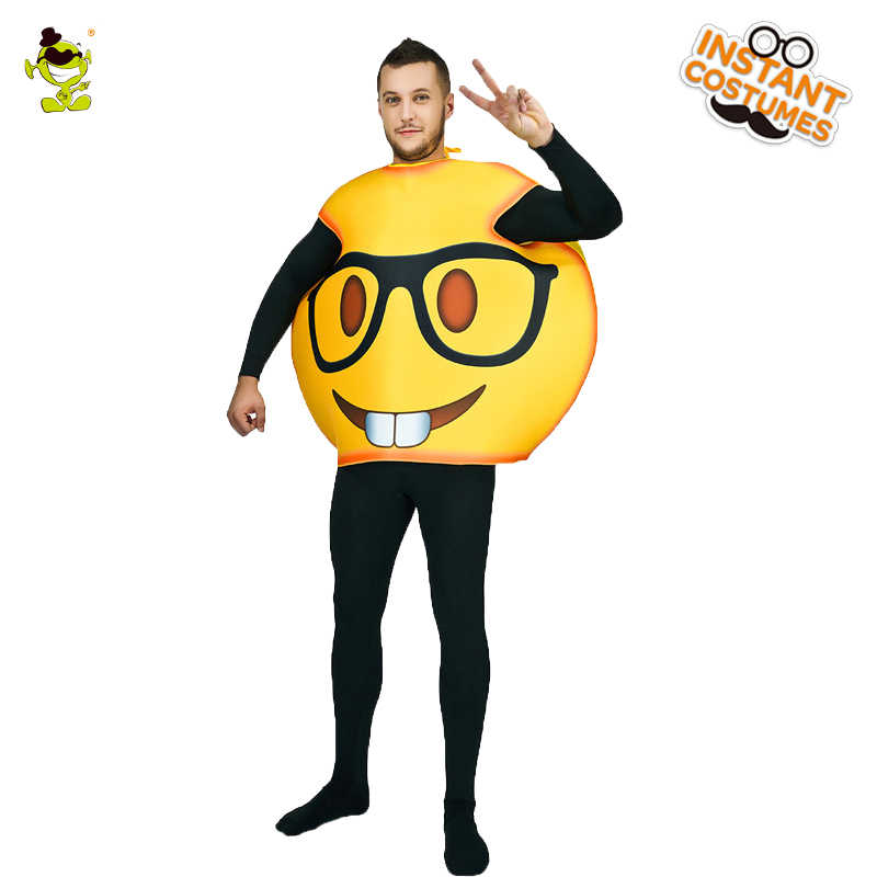 Christmas Fancy Dress Funny.Funny Face Emoji Party Costume Cosplay Clothes In Christmas Fancy Dress Funny Face Emoji Costumes For Adults