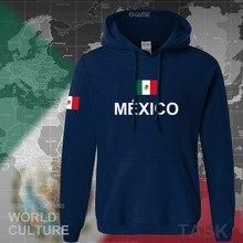 Moletom masculino da equipe do méxico 2017, nova moletom streetwear roupas esportivas nation mexicano lã mx mex
