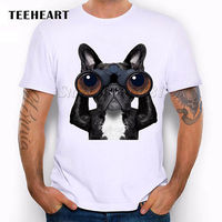 Black Dog Cute Animal Having Fun French Bulldog Funny Joke Men T Shirt Tee