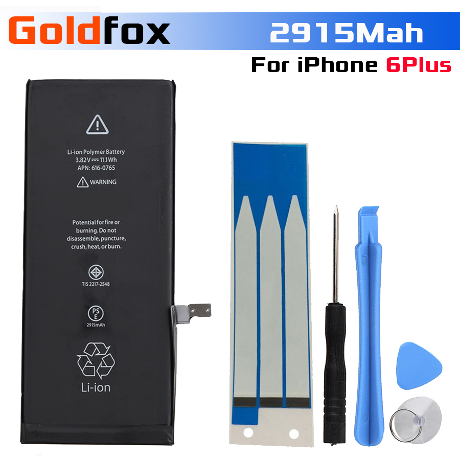 Batteries-Battery Mobile-Phone-Replacement 6plus IPhone For 2915mah With Tools-Kit Spare