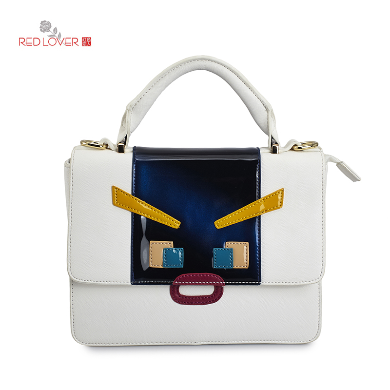 Korean style Female handbag GG Bond white Totes Vintange PU leather shoulder bag buckles bags коньки bond white lilla жен