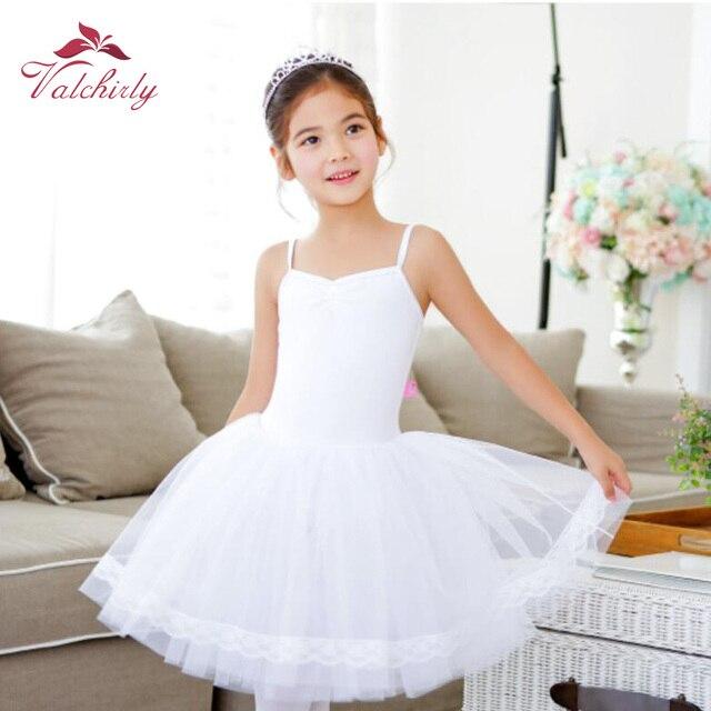Новое балетное платье пачка для девочек, одежда для трико и танцев, Детские праздничные платья принцесс, детские танцевальные костюмы