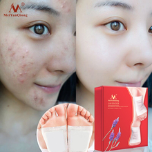 MeiYanQiong 20pcs lot Detox Foot Patches Pads Nourishing Repair Foot Patch Improve Sleep Quality Slimming Patch