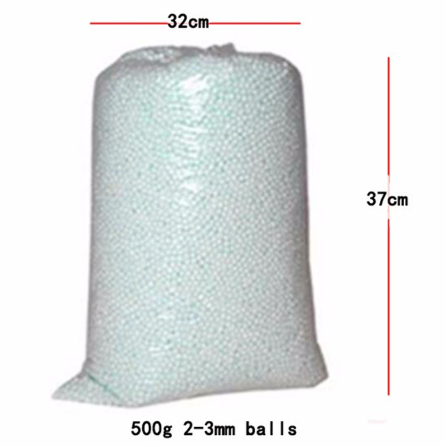 500g 250g Wholesale White Foam Balls Beanbag Baby Filler