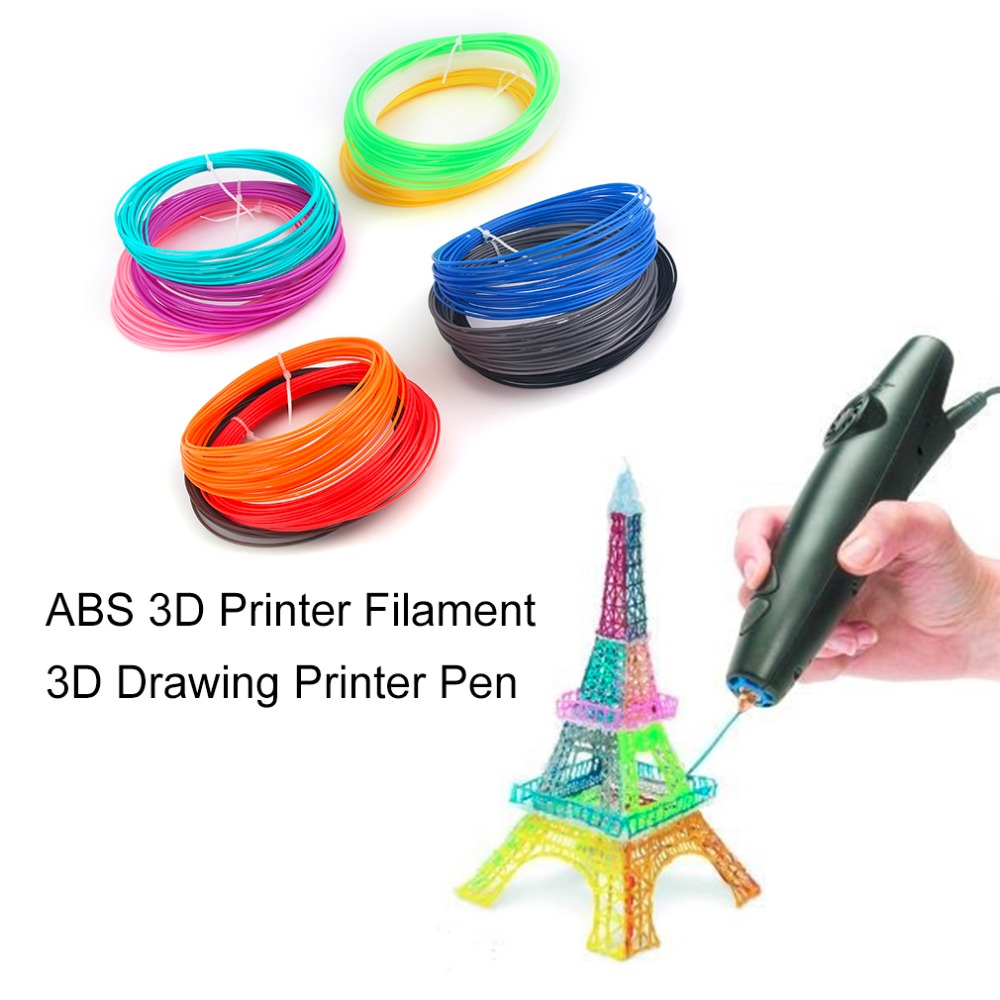 8 Color/12 Color Universal Paquete De Filamento Filamento Impresora ABS 3D 1.75