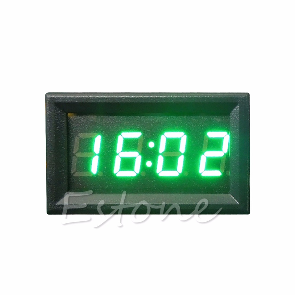 Motorcycle-Accessory Dashboard Digital Clock Car Led-Display Drop-Ship Z25 4-Colors 12V/24V