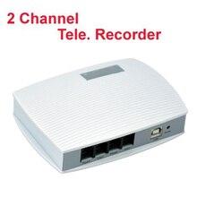 2Ch voix activé USB enregistreur téléphonique entreprise utilisation téléphone moniteur USB téléphone moniteur analogique téléphone enregistreur travail sur W10