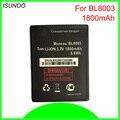 ISUNOO Высококачественный аккумулятор 1800 мАч для fly iq4491 BL8003 аккумулятор