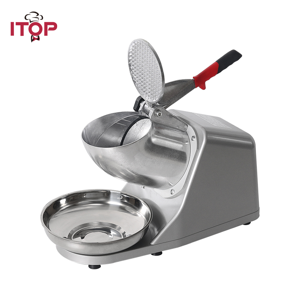 Electric Ice Crusher Shaver Commercial DIY Cream Maker for Coffee Shop Hotel