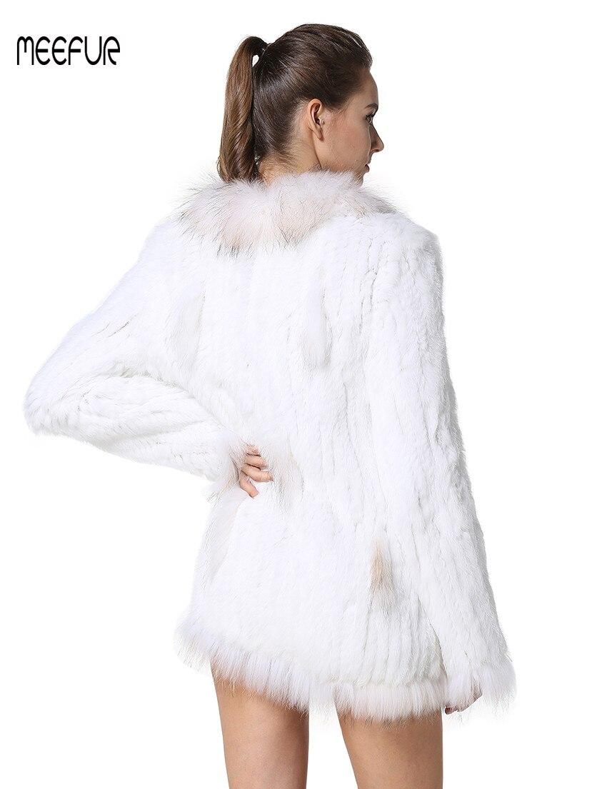 Fourrure Laveur Avec black Natural white Manteau Vestes Pour natural Mode Lapin Meefur Brown Raton Tricoté Grey Collier Femmes Dames De Manteaux Lx00291 Réel fWqctw8v