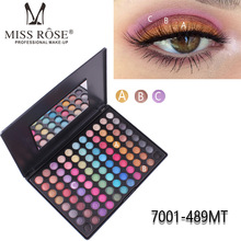 Brand MISS ROSE 88 color matte eye shadow professional makeup eye shadow disc eyeshadow palette shimmer eyeshadow palette popfeel 120 color professional eyeshadow palette shimmer matte eye shadow makeup palette eyeshadow contour powder eye makeup kit