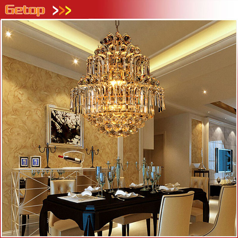 ZX Modern Crystal LED Chandelier Gold Luxury Lustre E14*8 Bulbs Included Crystal Ball Fixture for Restaurant Living Room Lamp зажигалка zippo founder