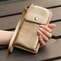 Flip Case For Xiaomi Pocophone F1 Mi 8 6 5 A1 A2 LIte Mix 2s Redmi Note 5 Plus 4X Hand Bag Portable Wallet cowhide Phone Housing