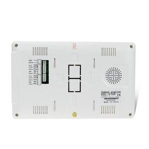 "Image 5 - 7 ""TFT LCD צבע מסך וידאו וידאו דלת בל אינטרקום מערכת מקורה צג יחידה עם 25 צלצול עבור בית דירה בטוח V70F"