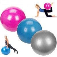 65 cm PVC Unisex Yoga Toplar Fitness Için 5 renkler Salonu Toplar Zayıflama Bebek Dengeleyici Topu Kadınlar için Hava Pompası ile Fitness Topu