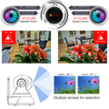 IP Camera Full HD 2.8mm WDR WIFI Indoor Infrared Day/Night Vision Mini Security CCTV Baby Monitor Camera
