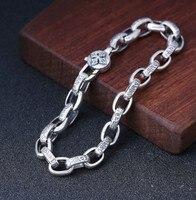 bracelet men mens jewellery chain bracelet silver 925