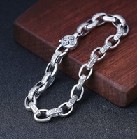 bracelet men mens jewellery chain bracelet silver 925