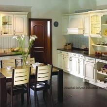 ПВХ/винил кухонный шкаф(LH-PV057