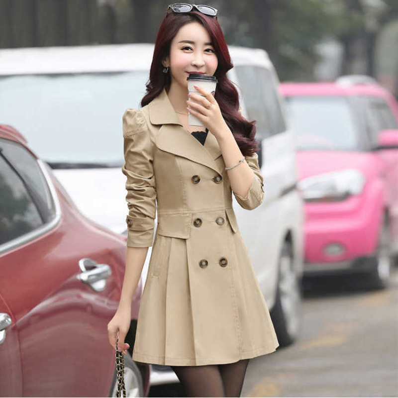 Fashion Trench Coat For Women Long Winter Coat Women Jacket Plus Size Casaco Clothes 2019 sobretudo feminino