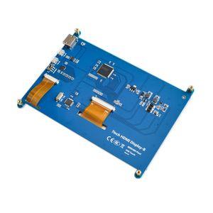 Image 3 - شاشة 7 بوصة راسبيري pi 3 B تعمل باللمس 1024*600 7.0 بوصة IPS بالسعة شاشة LCD تعمل باللمس ، واجهة HDMI ، يدعم أنظمة مختلفة