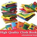2016 Новый милый мультфильм детские мягкие ручной ткань книги для детей дети малышей обучения развивающие игрушки малышей история книги