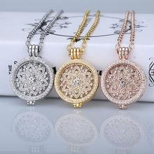 Роскошное ожерелье для монет 35 мм подвески держатель 33 Женская