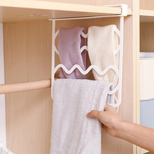2 Colors Home Decorative Closet Shelf Dividers Wardrobe Partition Shelves Divider Clothes Wire Shelving Storage Organizer(China)