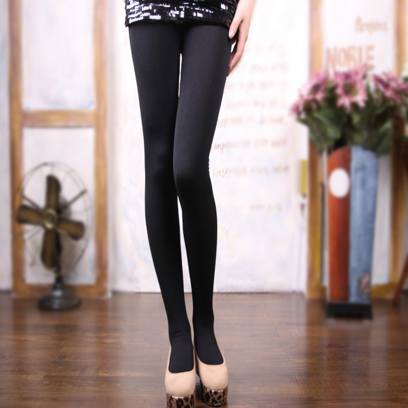 2Pcs Lady Pantyhose Elastic Step Foot Seamless Tights Autumn Winter Charming Tights Sexy Long Stockings Slim Pantyhose Female