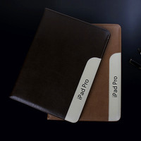 Business Ultra Thin Stand Cover Case For IPad Pro 12 9 Luxury Smart Flip Book Cover