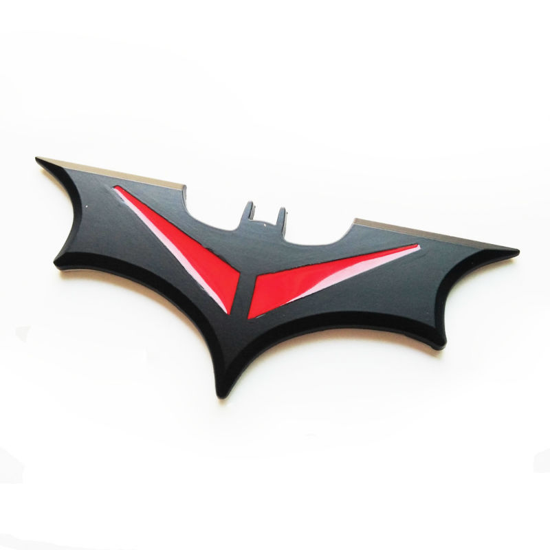 3D Metal Bat Car Sticker Car Styling For VW Volkswagen BMW Nissan ...
