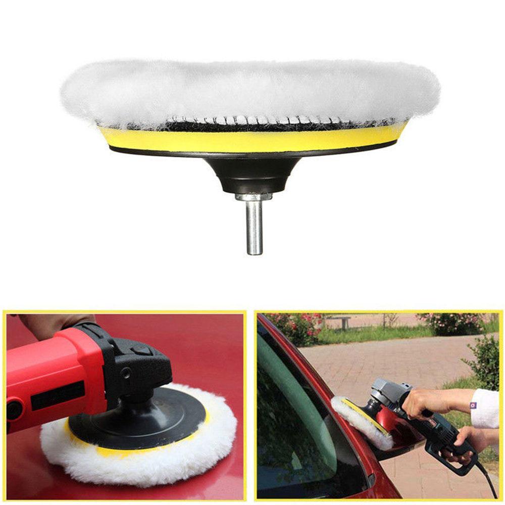 Губка для полировки 8 шт. 4 дюймов полирующая пена многоцветный полировальный коврик автомобиль губка для полировки автомобиля
