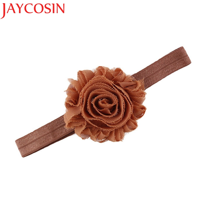 Hair Accesories Soft Girls Headbands Flower Headband For Kids party birthday Hair Band 8 Colors To Choose drop Shipping H20