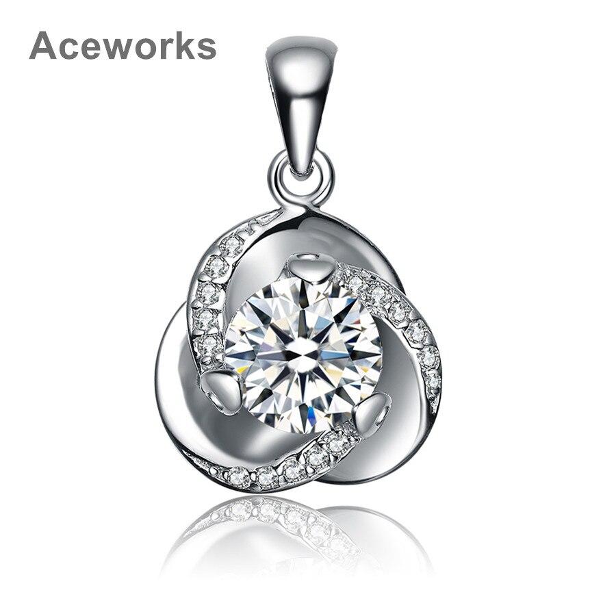 Aceworks циркония Подлинная стерлингового серебра <b>925</b> ...
