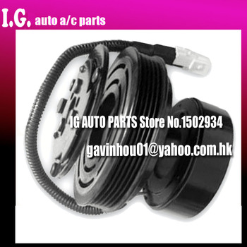 Embrayage de compresseur de climatisation SANDEN 7H13 J7H15 neuf pour voiture Peugeot 205 I/205 II/309 II/406/605 6453N3 6453P5