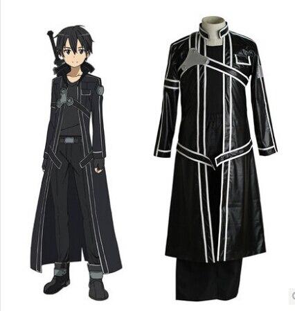 Fantasias Sword Art Online Costume Kirigaya Kazuto Cosplay Costume