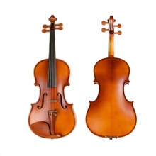 Handmade 4/4 Full Size Solid Carved Top Flame Maple handmade Professional Violin With Oblong Case and Bow Light violin TL001-4B