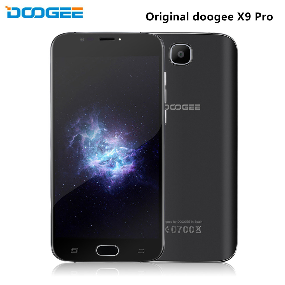 Original DOOGEE X9 Pro 4G 5 5inch Smartphone Android 6 0 2GB RAM 16GB ROM Mobile