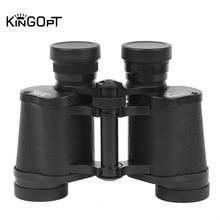 купить Powerful 8x30 Binocular Professional Military Telescope Lll Night Vision HD Russian Blue Film Binoculars Outdoor Hunting Tools дешево