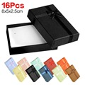16PCS 8X5X2.5CM Sale Jewelry European Bracelet&Watch Gift Boxes Bowtie Cases Display Different Color