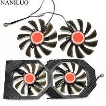 2 ピース/ロット 95 ミリメートル FDC10U12S9 C CF1010U12S クーラーファン交換 Xfx AMD Radeon RX 580 590 RX580 RX590 グラフィックスカード冷却ファン