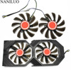 2PCS/lot 95MM FDC10U12S9 C CF1010U12S Cooler Fan Replace For XFX AMD Radeon RX 580 590 RX580 RX590 Graphics Card Cooling Fan