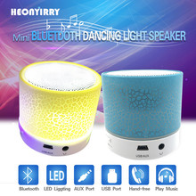 Portable Bluetooth Speakers Wireless LED Mini Soundbar Music Audio TF FM Light Stereo Sound Speaker For Phone Xiaomi with Mic