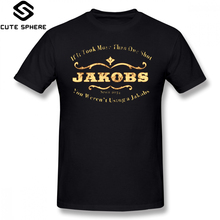 Borderlands T Shirt Jakobs Weapons T-Shirt Printed Funny Tee Short Sleeve Summer 100 Cotton 4xl Mens Tshirt