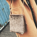 Bags Women Famous Brands Designer Handbags High Quality Vintage Open Soft Flannel Solid Messenger Bags Bolsos Mujer Bolsas