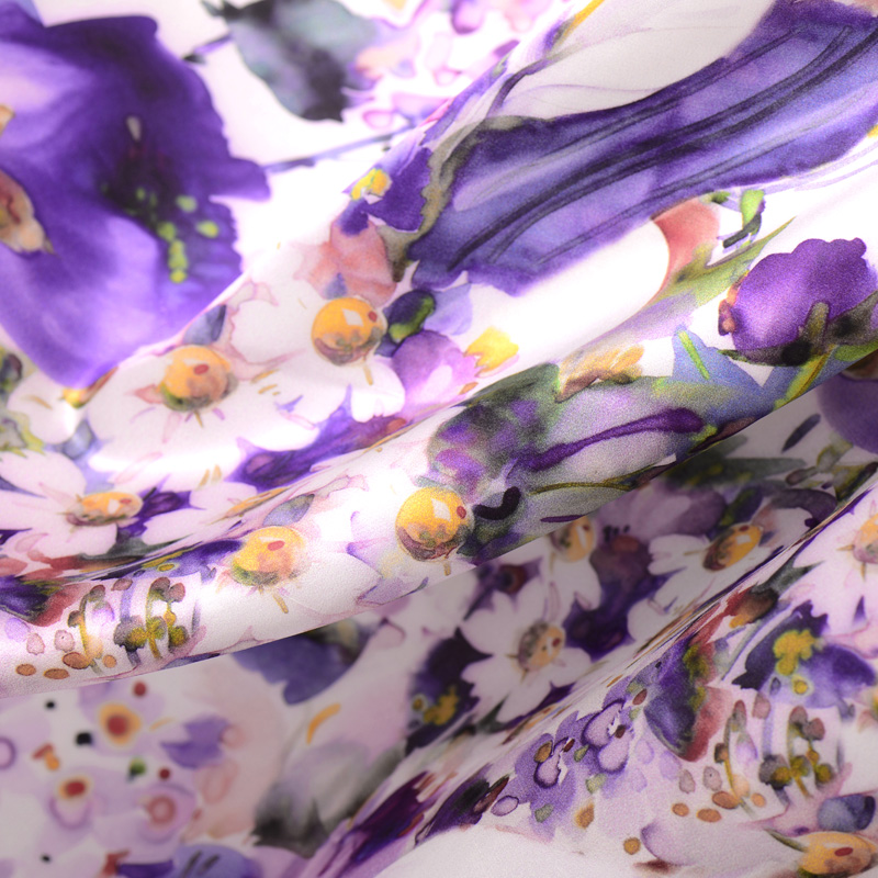 Purple palace flower city silk double sausage satin 21mm exclusive purple palace flower city silk double sausage satin 21mm exclusive custom inkjet advanced silk fabric free shipping in fabric from home garden on mightylinksfo